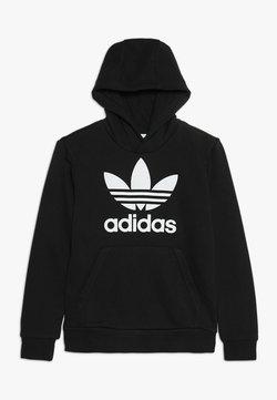 adidas Originals - TREFOIL HOODIE UNISEX - Kapuzenpullover - black/white