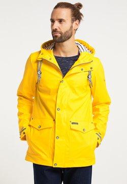 Schmuddelwedda - Regenjacke / wasserabweisende Jacke - gelb