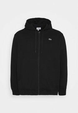 Lacoste - veste en sweat zippée - noir
