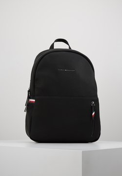 Tommy Hilfiger - ESSENTIAL BACKPACK - Reppu - black
