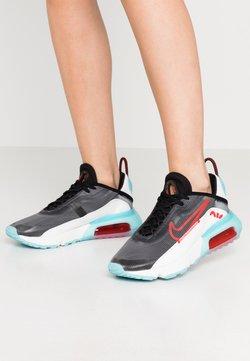 Nike Sportswear - AIR MAX 2090 - Sneakers - black/chile red/bleached aqua/summit white