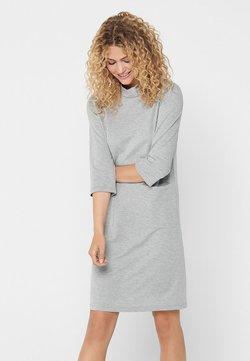 JDY - Vestido ligero - light grey melange