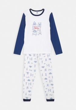 Petit Bateau - LIEVRE SET - Pyjamas - marshmallow/bleu