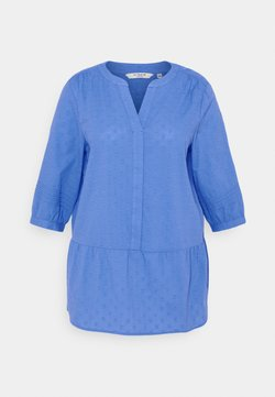 MY TRUE ME TOM TAILOR - BLOUSE TUNIC STYLE - Tunic - marina bay blue
