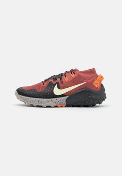Nike Performance - WILDHORSE 6 - Zapatillas de trail running - claystone red/life lime/black/dark smoke grey/healing orange/college grey