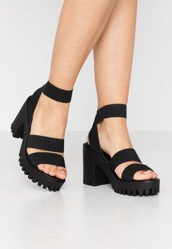 Madden Girl - SOHOO - Sandalias de tacón - black