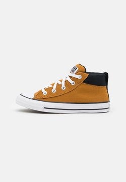 Converse - CHUCK TAYLOR ALL STAR STREET MID UNISEX - Korkeavartiset tennarit - brown