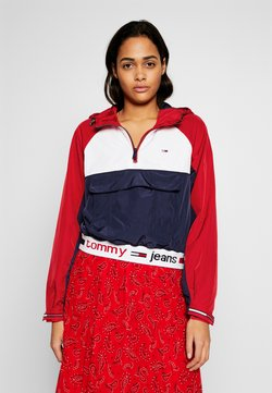 Tommy Jeans - Windbreaker - deep crimson/multi
