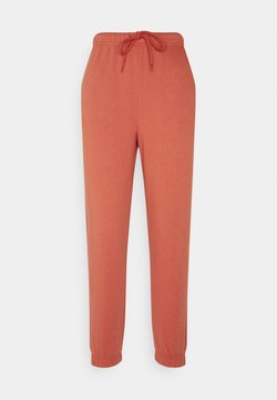 Pieces Petite - PCCHILLI PANTS - Jogginghose - burnt ochre