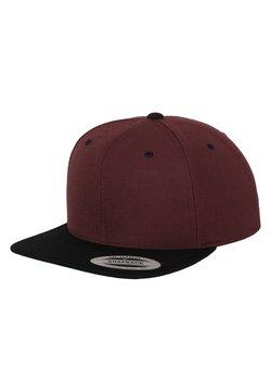 Flexfit - CLASSIC SNAPBACK 2-TONE - Cap - bordeaux, black