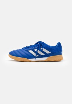 adidas Performance - COPA 20.3 FOOTBALL SHOES INDOOR - Chaussures de foot en salle - royal blue/silver metallic