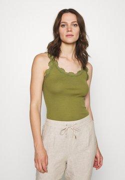 Rosemunde - REGULAR VINTAGE - Top - leaf green