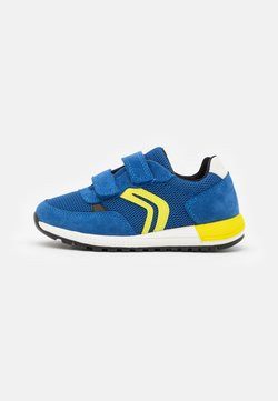 Geox - ALBEN BOY - Sneaker low - royal/lime