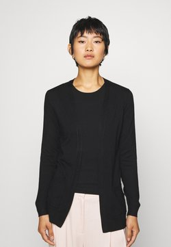 Anna Field - BASIC- Pocket cardigan - Gilet - black