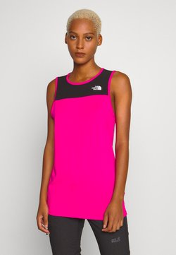 The North Face - WOMENS ACTIVE TRAIL TANK - Funktionsshirt - mr. pink