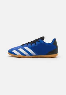 adidas Performance - PREDATOR FREAK .4 IN SALA - Indoor football boots - royal blue/footwear white/core black