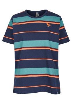Cleptomanicx - T-Shirt print - dark navy
