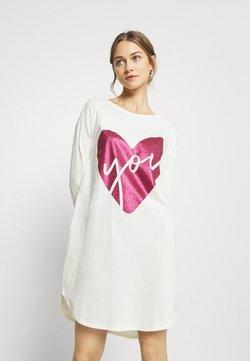 Benetton - NIGHT DRESS - Nachthemd - white