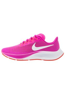 Nike Performance - AIR ZOOM PEGASUS 37 - Neutrala löparskor - fire pink/white/team orange/magic ember