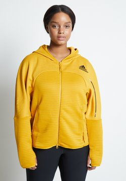 adidas Performance - Laufjacke - yellow
