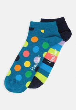 Happy Socks - BIG DOT LOW SOCK 2 PACK - Socken - medium purple