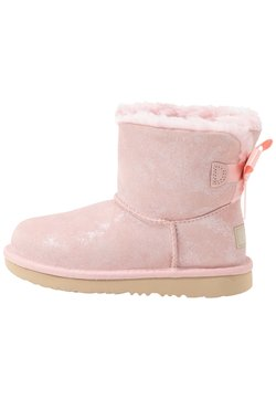 UGG - MINI BAILEY BOW SHIMMER - Stiefelette - pink cloud