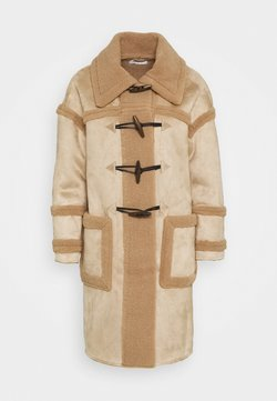 Glamorous - DUFFLE COAT WITH SHEARLING DETAIL - Manteau classique - light brown