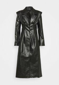 Han Kjobenhavn - DIAMOND COAT - Trenchcoat - black