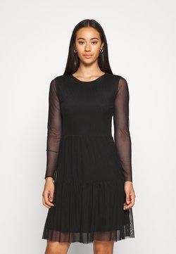 JDY - JDYDIXIE LAYER DRESS - Day dress - black