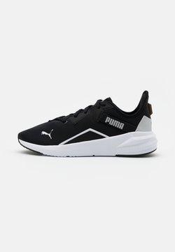Puma - PLATINUM - Trainings-/Fitnessschuh - black/white/metallic silver