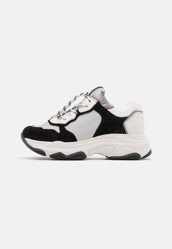 Bronx - BAISLEY - Sneakers laag - white/black