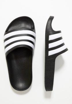 adidas Performance - ADILETTE AQUA - Badesandale - core black