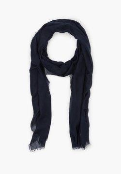 s.Oliver - MIT FRANSEN - Schal - dark blue