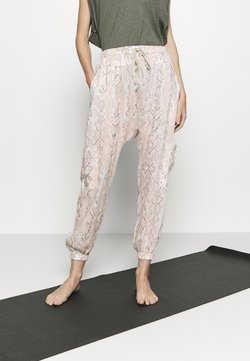Free People - RISE TO THE SUN PRINTED - Pantalones deportivos - pink