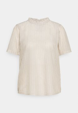 Cream - KATINKA BLOUSE - T-Shirt print - travertine/chalk