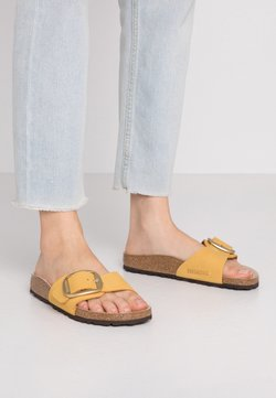 Birkenstock - MADRID BIG BUCKLE - Chaussons - ochre