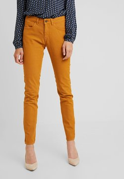 Fransa - FRESJEG PANTS - Slim fit jeans - inca gold