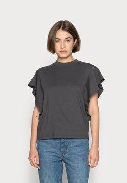 Madewell - DALLAS FLUTTER  - T-shirt basic - coal