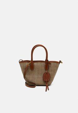 Polo Ralph Lauren - OPEN TOTE MINI - Käsilaukku - brown