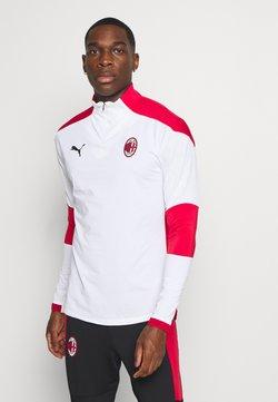 Puma - AC MAILAND TRAINING - Vereinsmannschaften - white/tango red