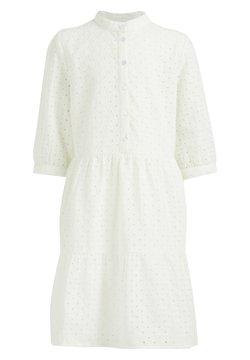 WE Fashion - Blusenkleid - white