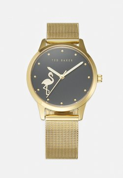 Ted Baker - FITZROVIA FLAMINGO - Montre - gold-coloured/black