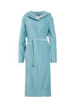 TOM TAILOR - BASIC VELOURS - Dressing gown - light blue