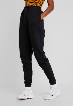 Even&Odd - HIGH WAISTED LOOSE FIT JOGGERS  - Jogginghose - black