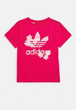 adidas Originals - TEE - T-shirt z nadrukiem - power pink