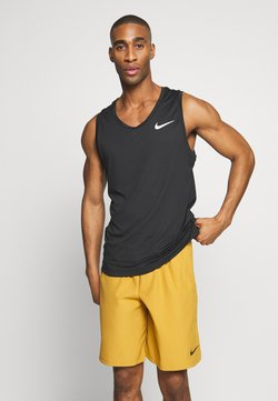 Nike Performance - TANK DRY - Funktionsshirt - black/white