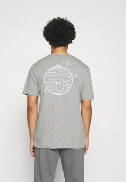 Nike Sportswear - Print T-shirt - grey heather