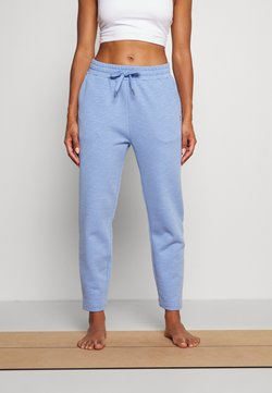 Sweaty Betty - ESSENTIALS TAPER TROUSER SUSTAINABLE - Pantaloni sportivi - coast blue