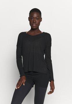Nike Performance - POINTELLE - Funktionsshirt - black/dark smoke grey