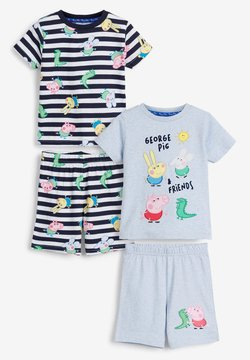 Next - 2 PACK - Pijama - blue
